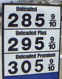 los angeles gas prices