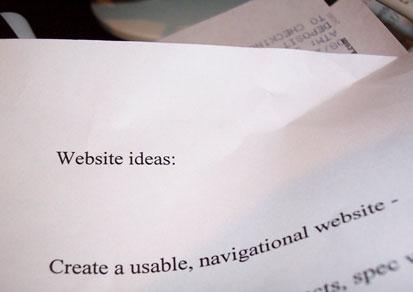 website ideas: create a usable, navigational web site