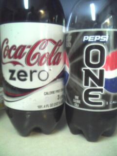 Coke Zero, Pepsi One