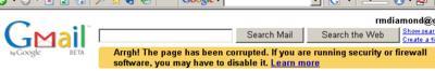gmail arrgh!